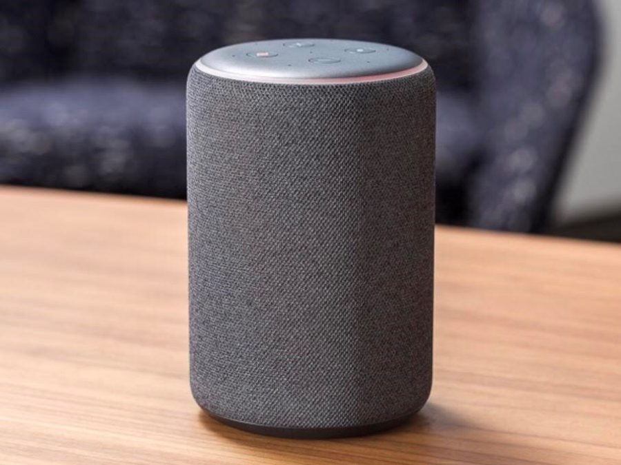 The+Amazon+Echo+in+gray