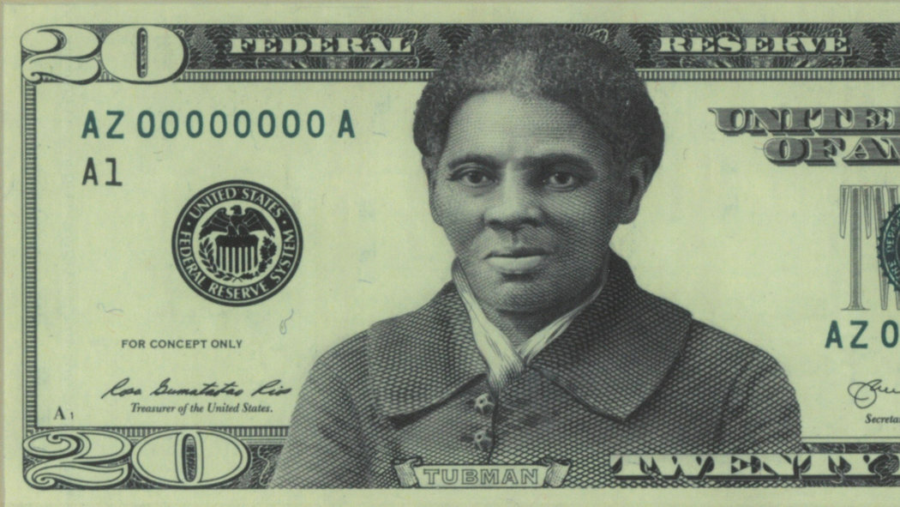 Tubman on the $20