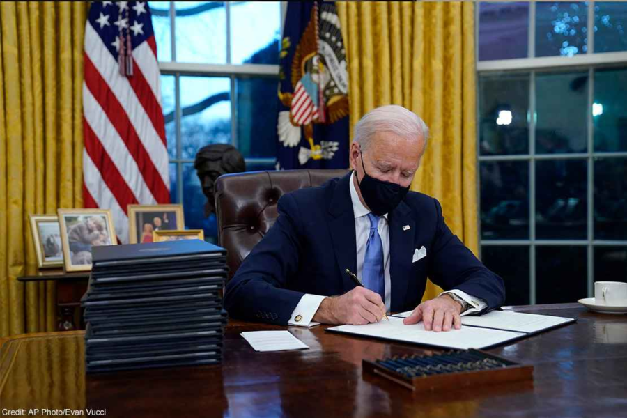 Does Biden's Executive Order Erase Women?