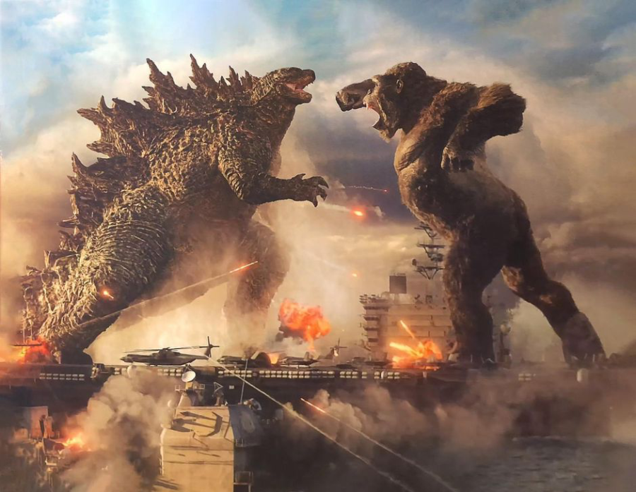 Kaiju monster madness unfolds in the first trailer for Godzilla vs. Kong.